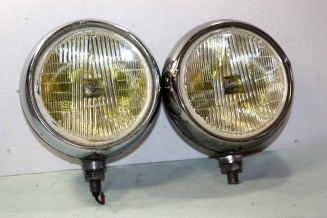 PAIRE DE FEUX ADDITIONNELS AB CIBIE OSCAR D/180mm...R8 S SIMCA RALLYE...