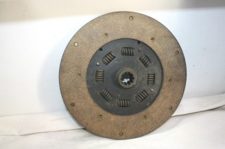 DISQUE D'EMBRAYAGE 10 CANNELURES D/254mm HERSOT...DODGE UTILITAIRE CAMION ARMEE