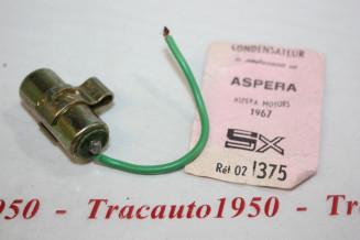 CONDENSATEUR SOPARTEX 02.1375...MOTEURS ASPERA divers 1967