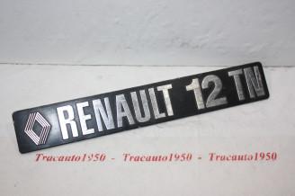 MONOGRAMME OU LOGO RENAULT R12 TN...R12 BREAK