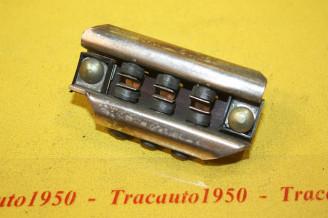 BORNIER 3 POLES DE CONNEXION L/80mm...AUTOS ANCIENNES DIVERS...voir descriptif