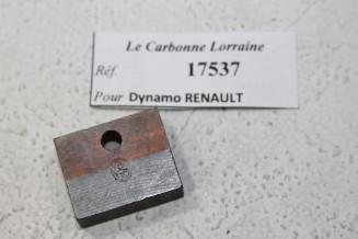 CHARBON 17537 POUR DYNAMOS RENAULT...RENAULT 6/8 CYL AVANT GUERRE voir descriptif