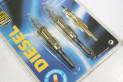JEU DE 2 BOUGIES DE PRECHAUFFAGE BERU GN961...MERCEDES E290 W210 SPRINTER VARIO