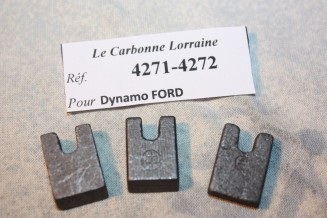 CHARBONS 4171/4172 POUR DYNAMOS FORD...POUR FORD 6/8CV 1932/1935