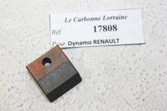 CHARBONS 17808 POUR DYNAMOS RENAULT...POUR RENAULT 4 CV PREMIERS MODELES
