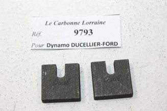 CHARBONS 9793 POUR DYNAMOS DUCELLIER-FORD...POUR FORD A AA AF BF ANF B AN