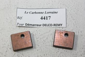 CHARBONS 4417 POUR DEMARREURS DELCO-REMY...POUR GMC CHEVROLET BUICK