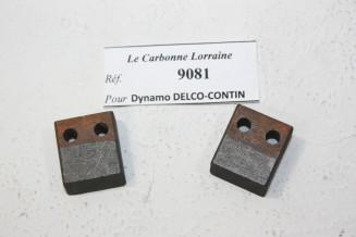 CHARBONS 9081 POUR DYNAMOS DELCO/CONTINSOUZA...POUR AUTOS ANCIENNES