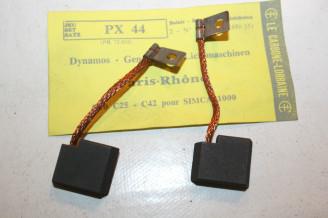 CHARBONS PX 44 POUR DYNAMO 12V PARIS-RHONE ...SIMCA 1000 5CV