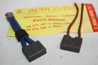 CHARBONS PSX 79-94 POUR DEMARREUR PARIS RHONE...POUR SIMCA 1100 SIMCA 1000 4CV