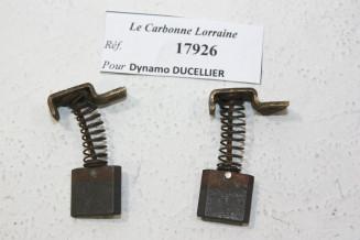 CHARBONS 17926 POUR DYNAMOS DUCELLIER...POUR AUTOS ANCIENNES