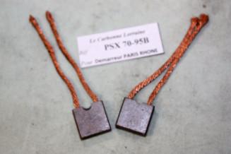 CHARBONS PSX 70-95B POUR DEMARREUR PARIS RHONE...ID/DS 403 404 504 R16TS R15 R17