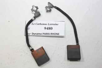 CHARBONS 9480 POUR DYNAMOS PARIS-RHONE...POUR SIMCA 5CV 8CV