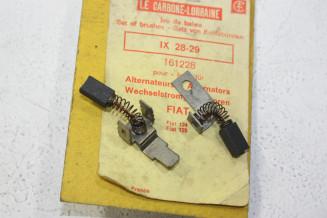 CHARBONS IX 28-29 POUR ALTERNATEUR FIAT...POUR FIAT DINO 124 125