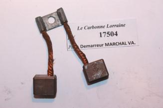 CHARBON 17504 POUR DEMARREURS MARCHAL-VAUCANSON...POUR TALBOT DELAHAYE MATHIS