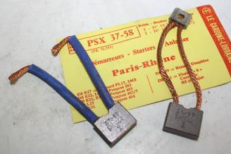 CHARBONS PSX 37-58 POUR DEMARREUR 12v PARIS RHONE...PL17 203 403 FLORIDE S R8