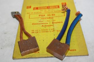 CHARBONS PSX 33-62 POUR DEMARREUR PARIS RHONE...CITROEN 2CV 3CV DS 19 ID 19