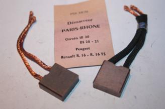 CHARBONS PSX 64-70 POUR DEMARREURS PARIS RHONE...ID DS 403 404 504 R16TS R15 R17