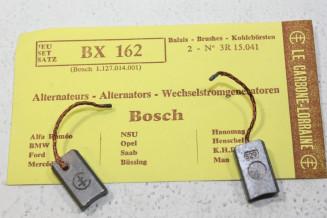 CHARBONS BX 162 POUR ALTERNATEURS BOSCH...POUR ALFA BMW MERCEDES OPEL FORD NSU