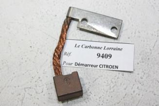 CHARBONS 9409 POUR DEMARREUR 6V CITROEN...POUR CITROEN C4 C6 CAMIONS T32