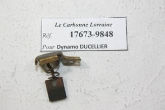 CHARBONS 17673 POUR DYNAMOS DUCELLIER...POUR SIMCA 5