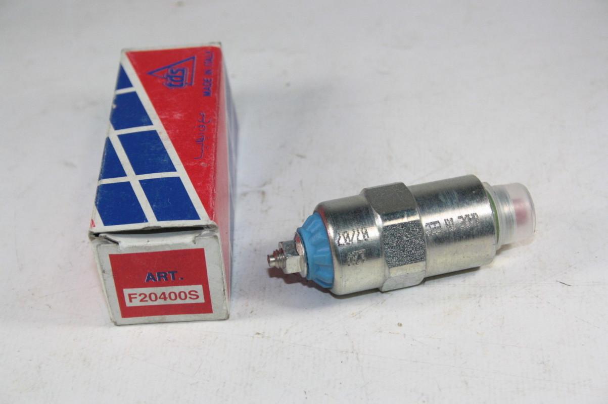 Electrovanne D/'arret Pompe Injection Lucas Roto diesel