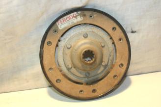DISQUE D'EMBRAYAGE 10 CANNELURES D/160mm FERODO...CITROEN 2CV 12/1955-04/1966